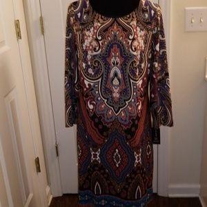 International  Concepts Ladies Print Dress